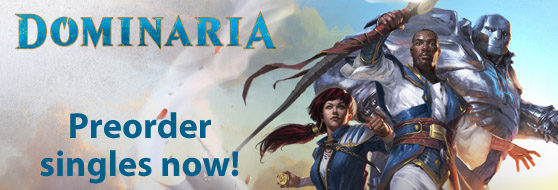 Preorder Dominaria Singles Now