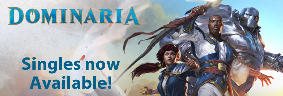 Dominaria Singles Now Available