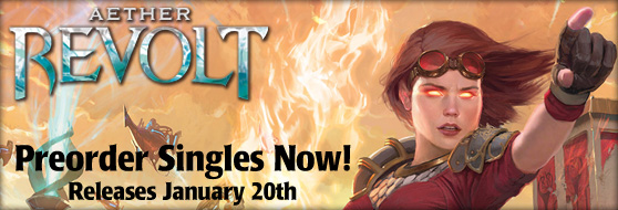 Preorder Aether Revolt Singles Now